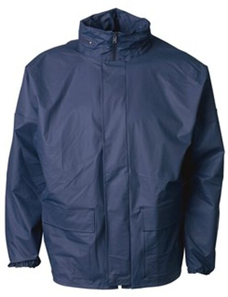 ELKA Regenschutz Jacke mit Reißverschluss und Druckknöpfen  Xtreme
