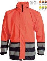 ELKA Warn- und Regenschutzjacke mit Reiverschluss  -...