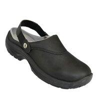 AWC Sicherheitsschuhe SB Sandale mit Schutzkappe schwarz