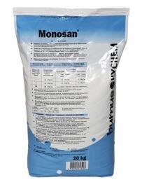 Monosan Desinfektionswaschmittel Waschmittel für Haushaltsmaschine geeignet