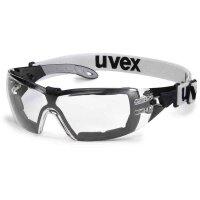 uvex Arbeitsschutzbrille pheos guard 9192180 schwarz/grau