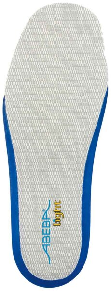 ABEBA auswechselbare Einlegesohle, blau 3559