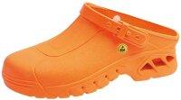 ABEBA Clog orange ESD 39630 OB