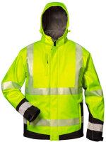 Warnschutz-Winter Softshell Jacke mit Kapuze MELVIN - elysee