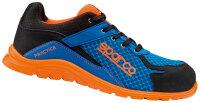 SPARCO Sicherheitsschuhe Practice S1P blue orange