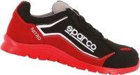 SPARCO S3 Sicherheitsschuh Nitro black red 7522RSNR