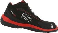 SPARCO Sicherheitsschuh Racing Evo S3 black red