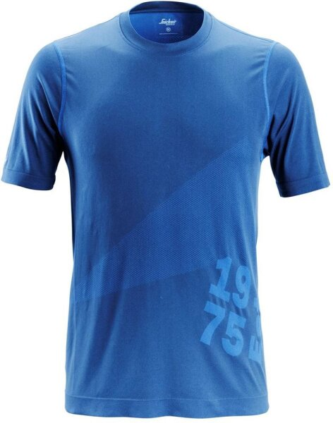 Snickers T-Shirt FlexiWork 37.5® 2519 True Blue 5600 XS (40/42)