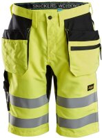 Snickers Warnschutz Shorts LiteWork High-Vis +...