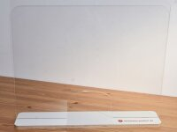 Moving Shield - Acrylglaswand MIT Durchgreiföffnung