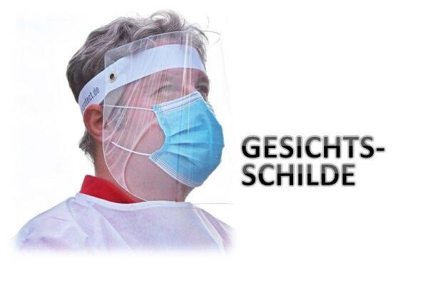 Facer  Gesichtsschild - durchsichtig - nachhaltiges Mehrwegprodukt