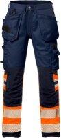 High Vis Handwerkerhose Flexforce Klasse 1