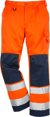 High Vis Warnschutz Bundhose 2001 TH Klasse 2 warnorange/marine C156