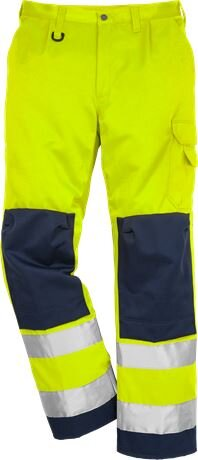 High Vis Warnschutz Bundhose 2001 TH Klasse 2 warngelb/marine C56