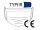 Medizinische Masken OP Masken Hygienemasken Typ IIR mit CE Kennzeichnung EN 14683:2019+AC