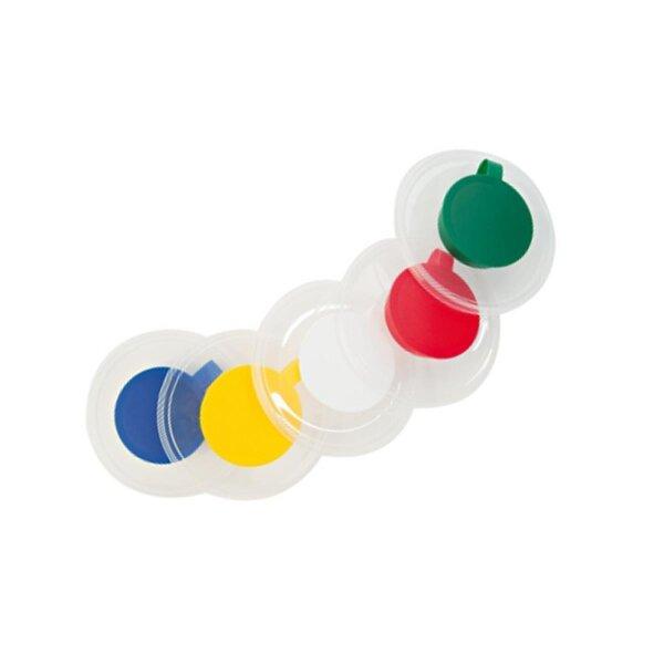 Deckel in verschiedenen Farben für wiederbefüllbaren Feuchttuchspender CLEANTAINER z.B. zur Flächendesinfektion