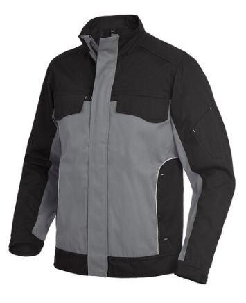 FHB Arbeitsjacke 130730 ERNST in 9 verschieden Farben grau/schwarz L