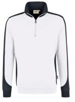 Hakro Herren Zip-Sweatshirt Contrast Mikralinar 476