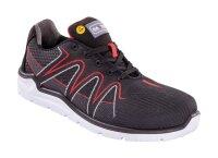 Santos Sicherheitsschuhe Sneaker S46 Black Red S3 ESD mit...