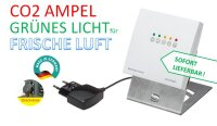 CO2-Sensor mit Ampelanzeige - made in Germany