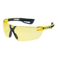 uvex Schutzbrille x-fit pro 9199 gelb Arbeitsschutzbrille...