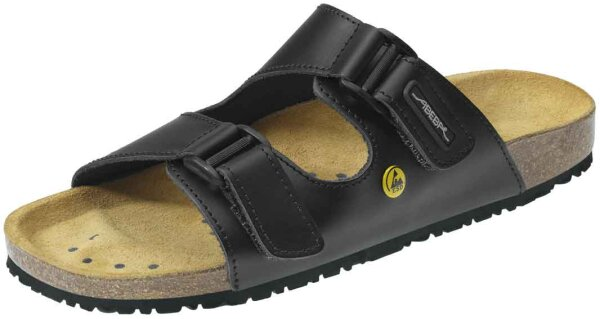 ABEBA Sandale schwarz ESD 4085 OB