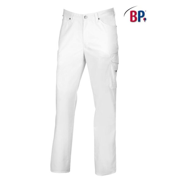 BP Herrenjeans 1658 686 21 weiß körpernahe Form mit Strech