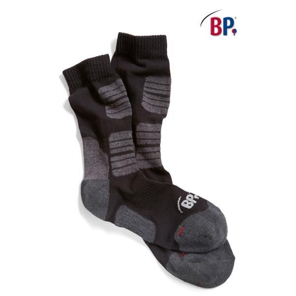 BP - Worker-Socken 1069 169 99 schwarz 5 Paar