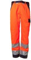 Planam Warnschutz Bundhose 2-farbig