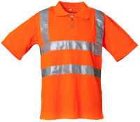 Planam Warnschutz Polo Shirt - leicht und luftig