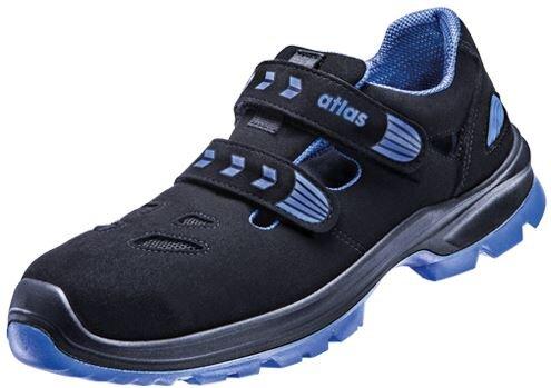 atlas sicherheitsschuhe sl46 s1 blue sandale leicht sportlich. Black Bedroom Furniture Sets. Home Design Ideas