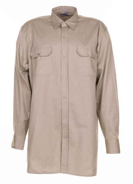Planam Körperhemd langarm - sportlich im Schnitt, ideal für jede Jahreszeit