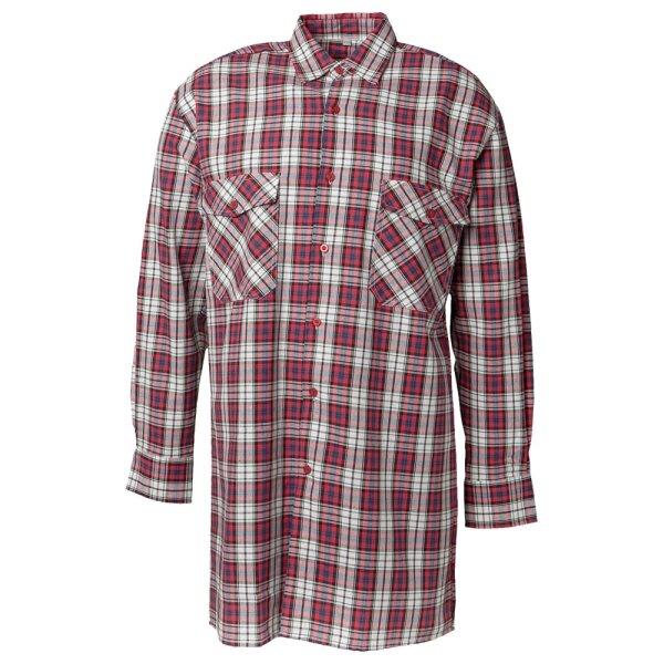 Planam Flanellhemd 2001 - Baumwollhemd im klassischem Design