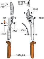 Original LÖWE 2107 Amboss Schere mit verstellbarer Griffweite