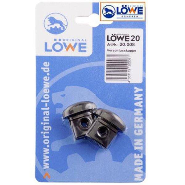 Original LÖWE 20008 Verschlusskappen, 1 Paar im Blister