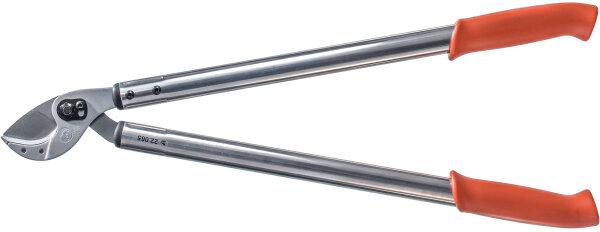 Original LÖWE Amboss Astschere 22065 mit gebogener Klinge 65cm