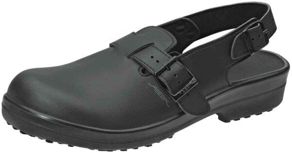 ABEBA Clog schwarz 1011 SB