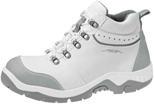 ABEBA Stiefel weiß/ grau 2172 S2