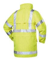 Warnschutz Regenjacke MARC gelb - Safestyle