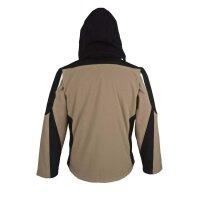 PKA Softshell Jacke mit Kapuze Bestwork New
