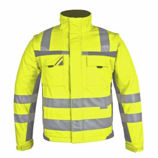 PKA Warnschutz Softshell-Jacke, Winter-Warnschutzbekleidung