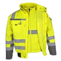 PKA Winterwarnschutz Pilotenjacke 3in1, Warnschutzbekleidung