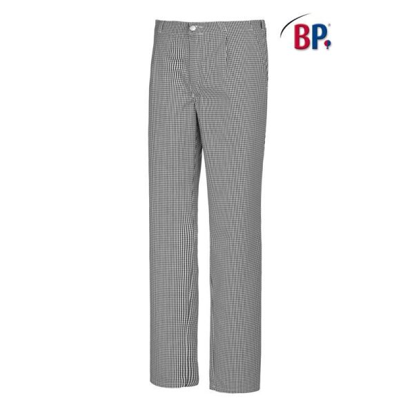 BP® Koch--Bäckerhose 1353 910 33 schwarz-weiß Pepita