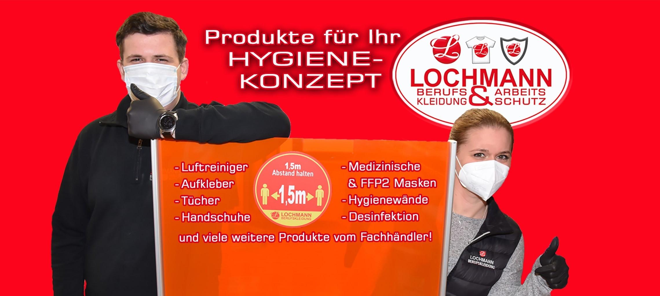 Produkte für Ihr Hygienekonzept