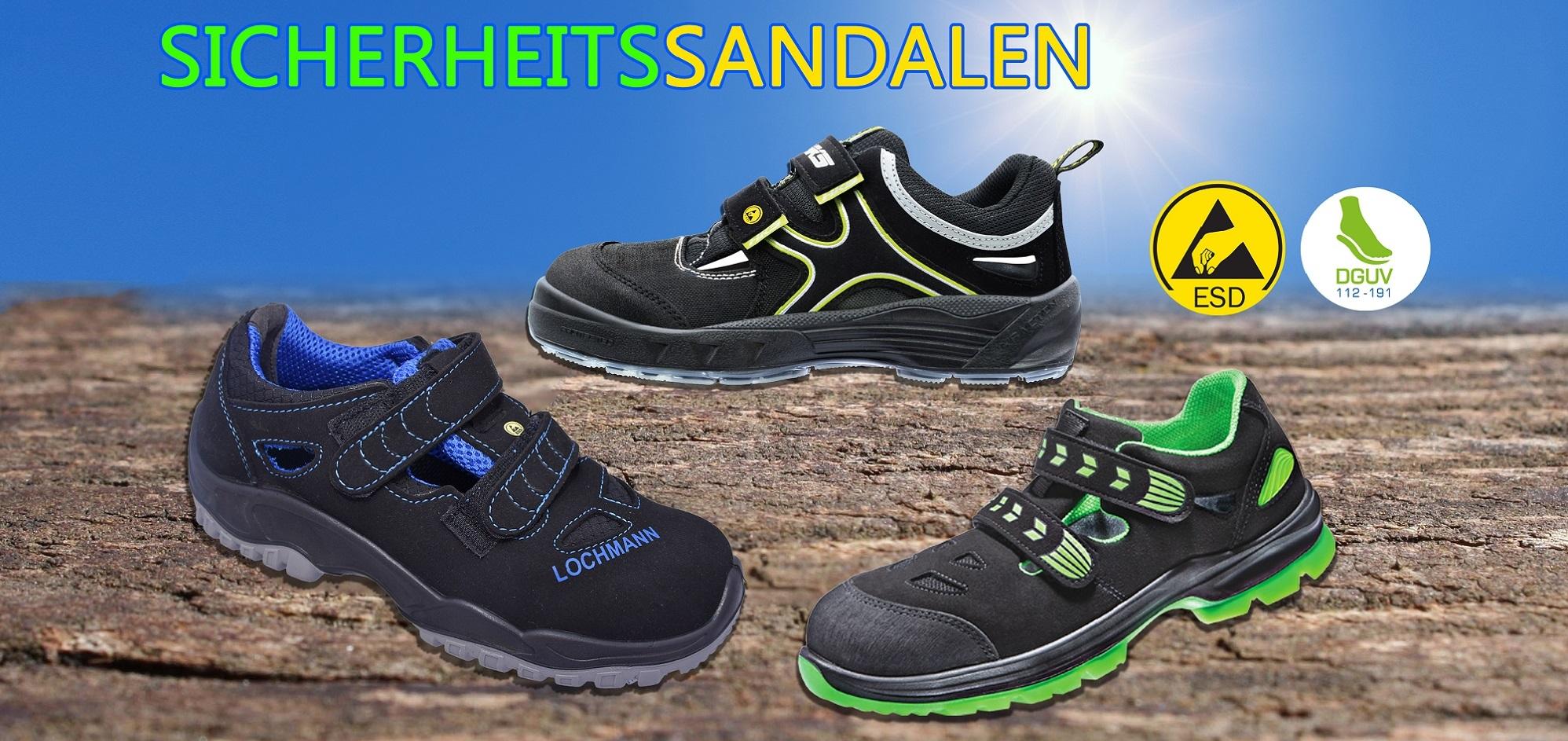 Luftig leichte Sandalen