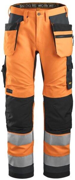Hi-Vis orange/grau