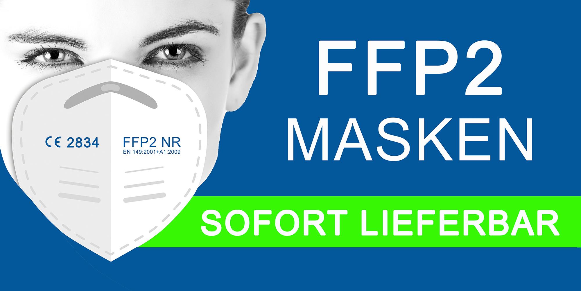 FFP2 Masken und medizinische Masken sofort li
