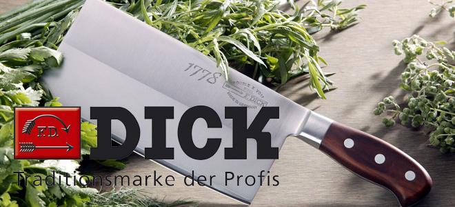 Dick Kochmesser die Tradition für Profis