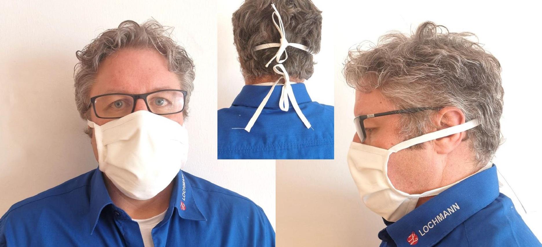 Behelfs-Mund und Nasenmaske  & Hygiene
